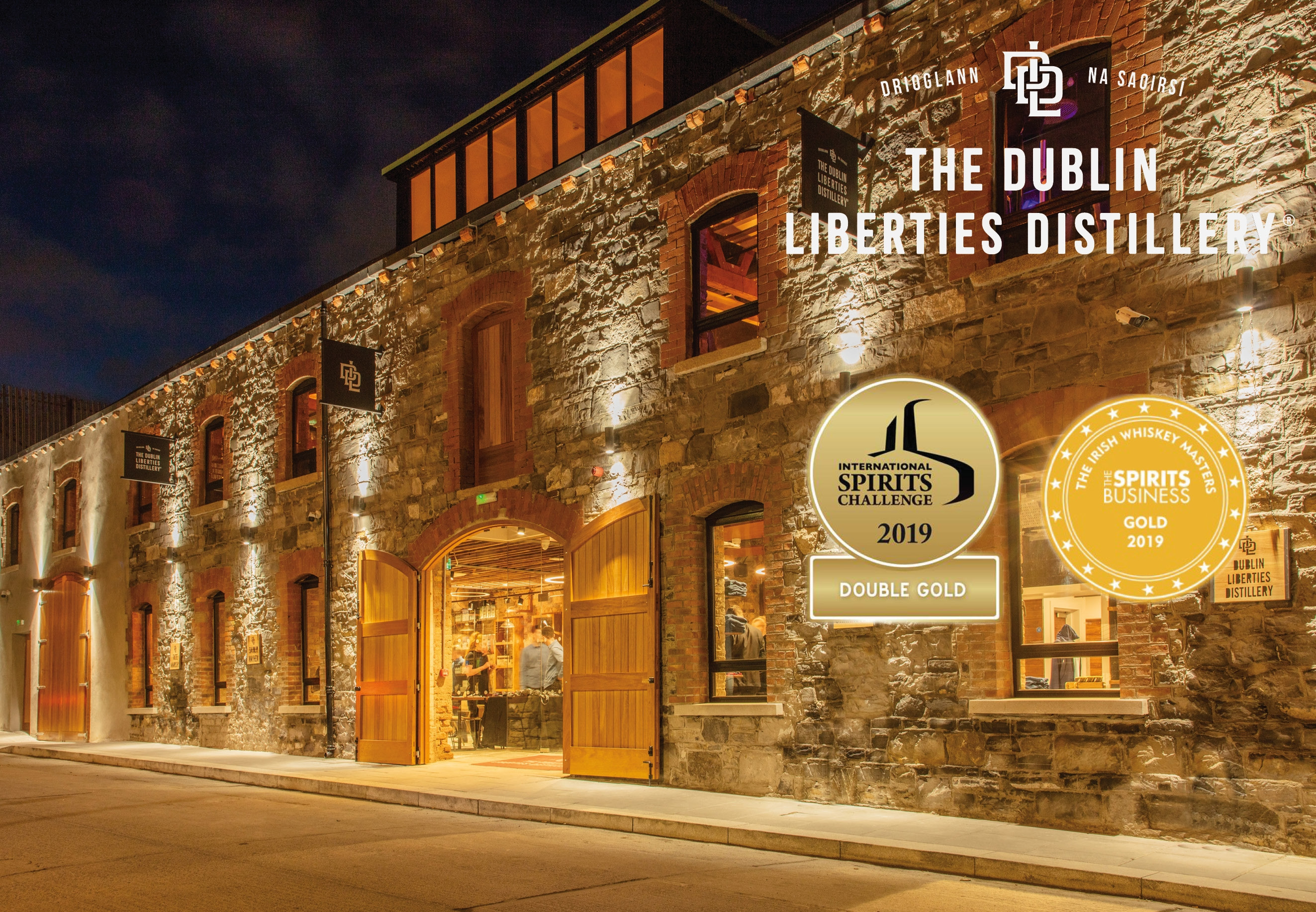 Afternoon for two at Dublin Liberties Distillery