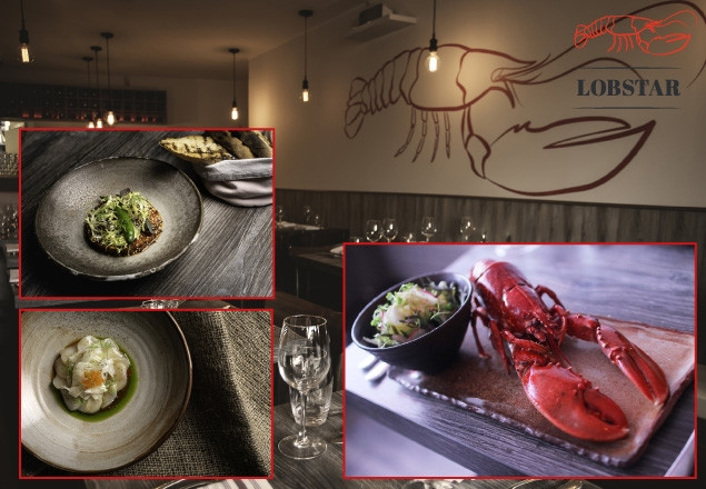 Three course dinner for two at Lobstar