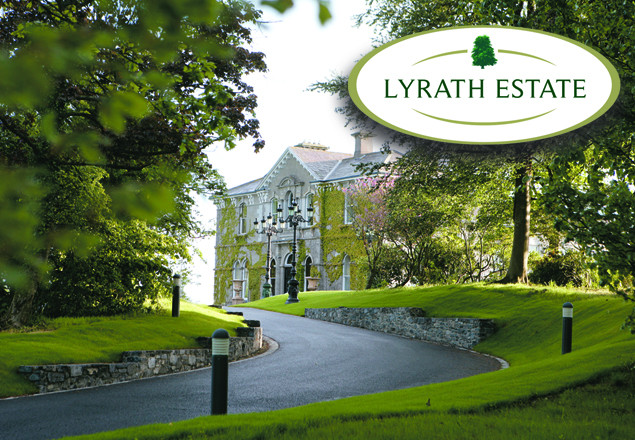 2 nights with dinner for 2  at Lyrath Estate