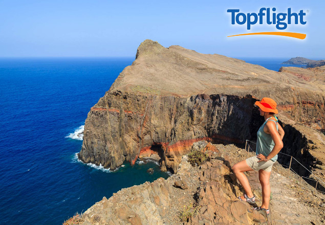 7 night trip for 2 in Madeira with Topflight