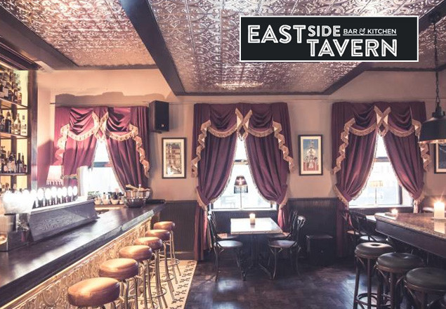 3 course dinner at East Side Tavern