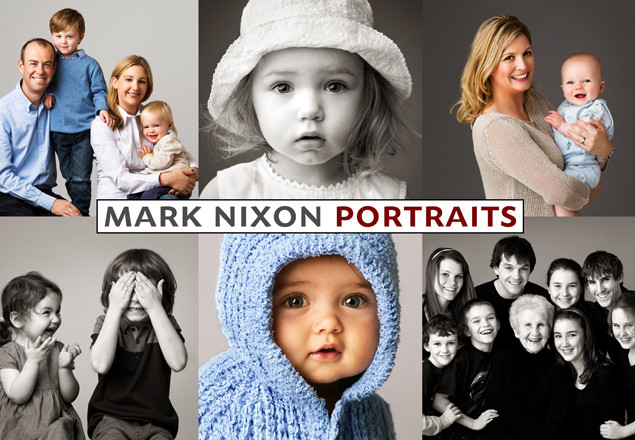 Photoshoot and Family Portrait at Mark Nixon