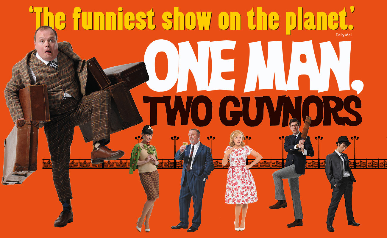 One Man Two Guvnors at BGE Theatre