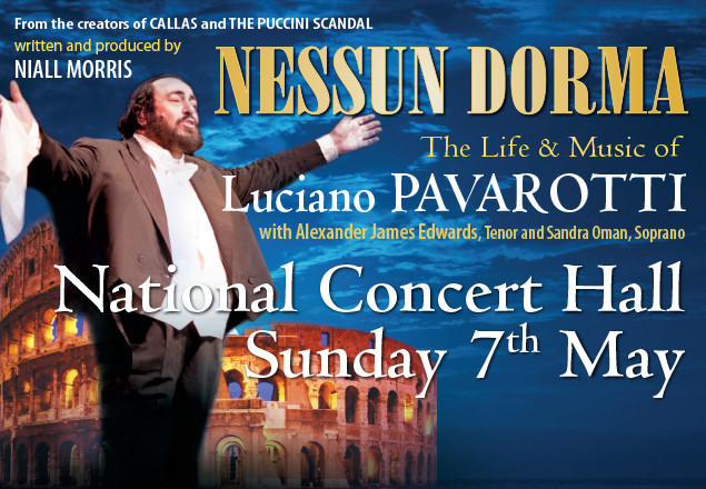 Pavarotti Ticket NCH 7th May