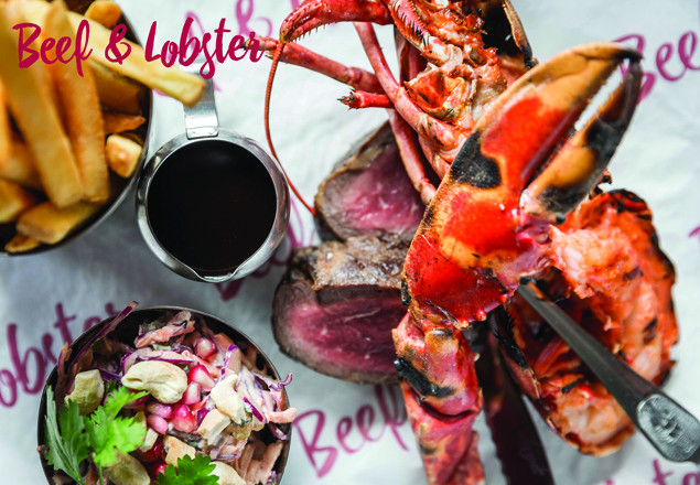Surf&Turf, deserts & cocktails at Beef & Lobster
