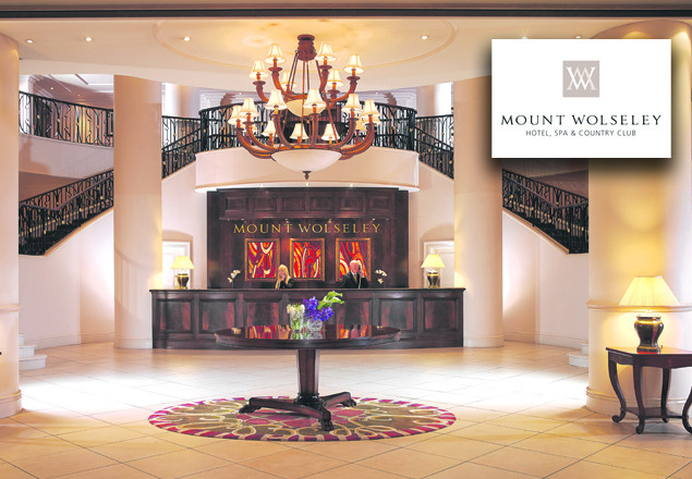 1 night stay with dinner at Mount Wolseley Hotel