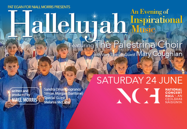 Ticket for Hallelujah at the NCH, Sat 24 June