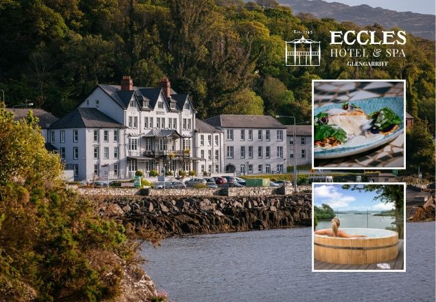 Two night stay at Eccles Hotel & Spa