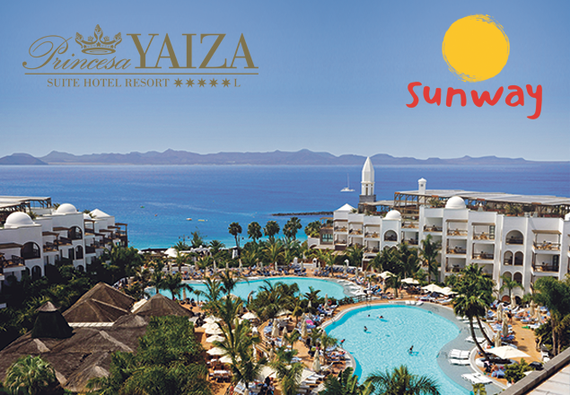 Escape to Lanzarote for a luxurious seven nights