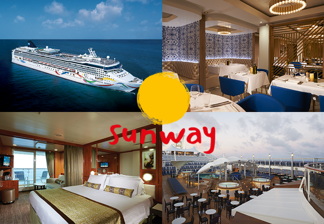 7 night Mediterranean cruise for two people