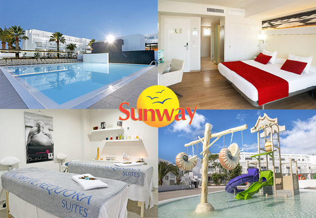 Enjoy a luxurious week in Lanzarote for two.