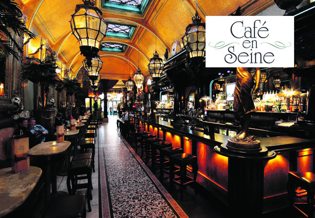 Lunch for two in Café en Seine