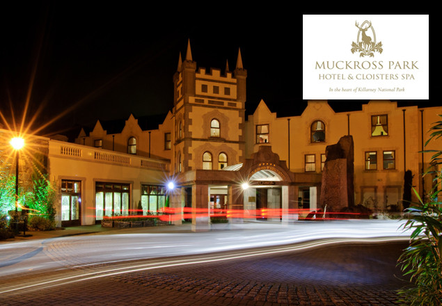 1 night luxurious stay at Muckross Park Hotel