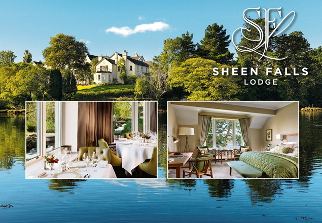 Luxury two night stay in Sheen Falls Lodge