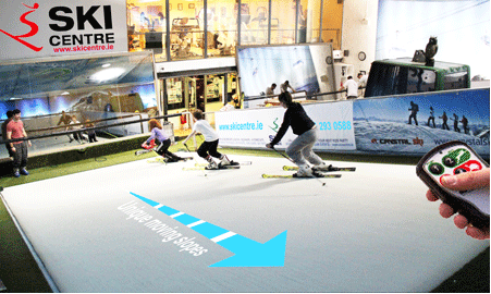 3 ski lessons at the Indoor Ski Centre, Dublin.