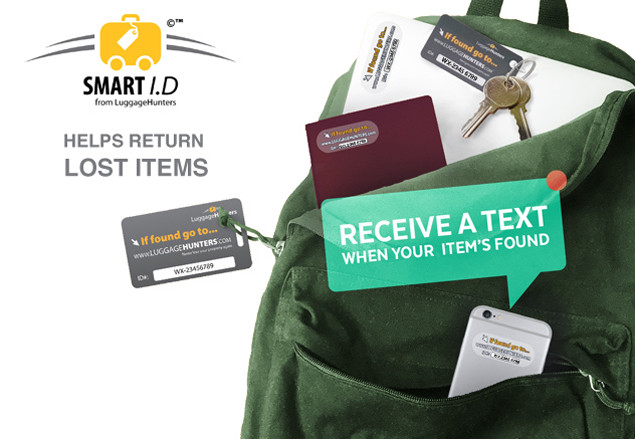 Smart ID Luggage & Valuables tags