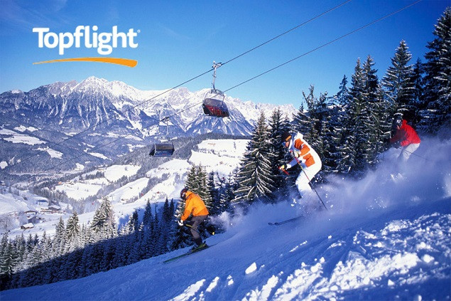 1 week Ski Holiday in Austria with Topflight