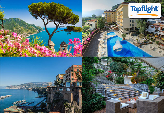 1 week holiday in Sorrento with Topflight