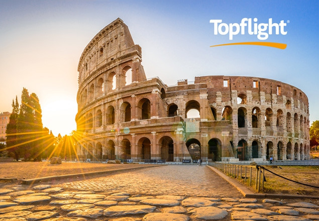 Enjoy Rome & Sorrento with Topflight