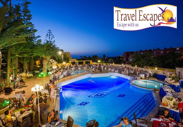 Seven night October escape to Crete