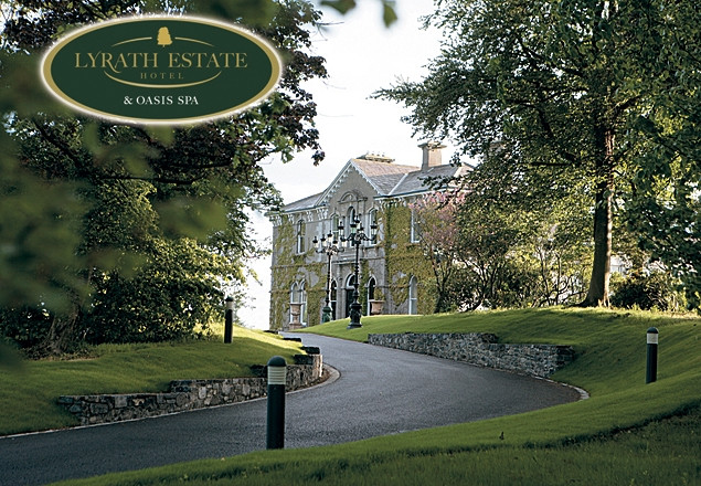 2 night stay at the 5* Lyrath Estate Hotel