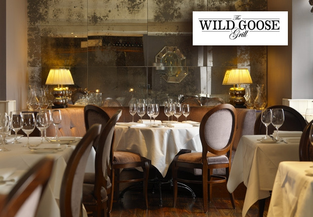Sunday lunch with wine at The Wild Goose Grill