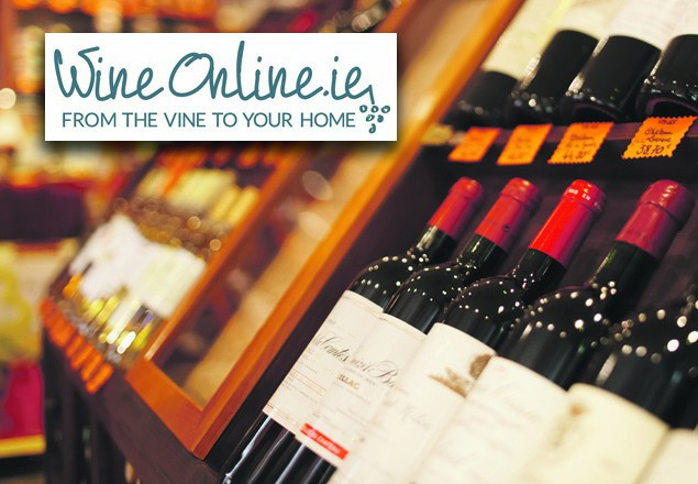 Case of wine from WineOnline.ie